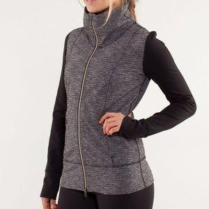 Lululemon • Rare herringbone Daily Yoga jacket